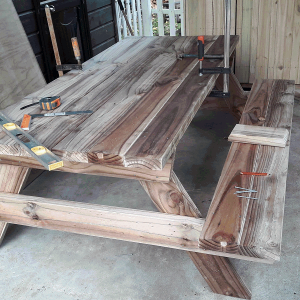 six seater picnic table