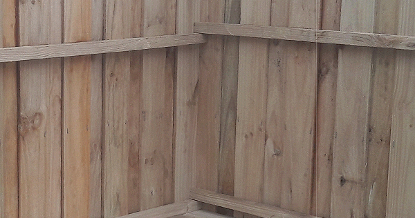 shed wall corner joining