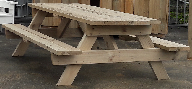 How to make a 2m solid picnic table