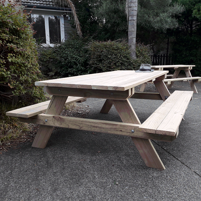 How to build a Dismantlable Picnic Table