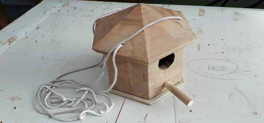 birdhouse done and ready